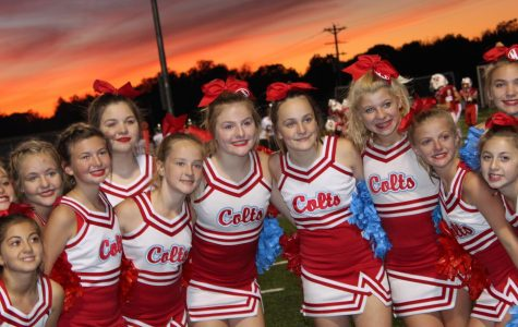 WJMS Competition Cheer Team